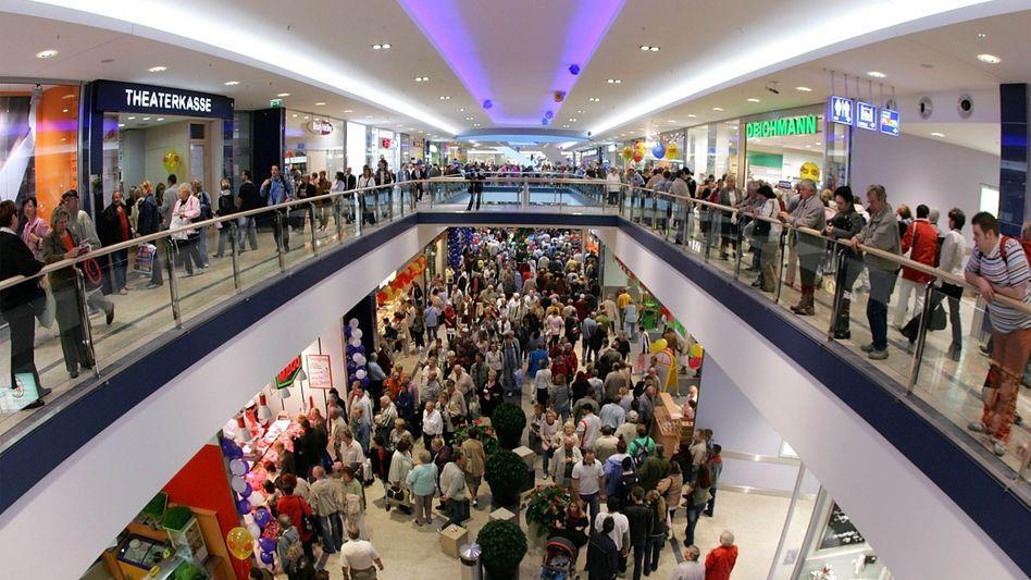Positive Stimmung: Der Gfk-Konsumklimaindex steigt von 5,5 Punkten im Januar auf 5,7 Punkte im Februar