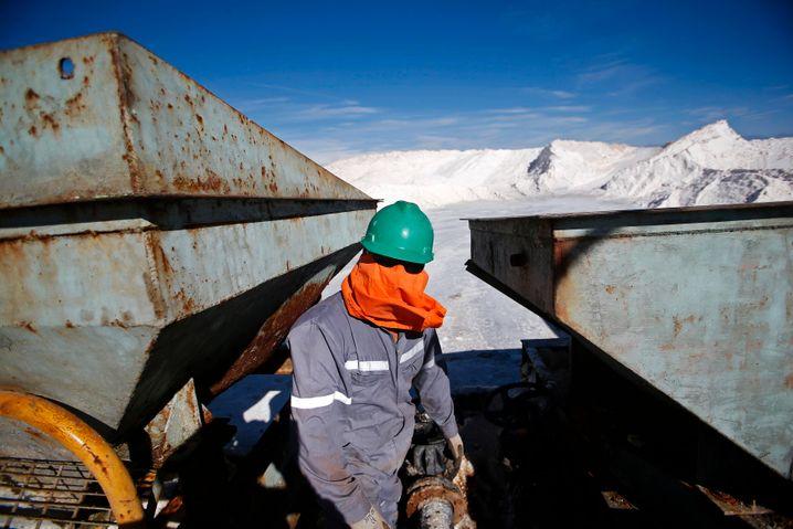 Lithiumabbau in der Atacama-Wüste: Würde das Mineral tatsächlich das neue Öl, wäre Chile mächtiger als die Opec