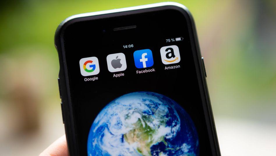 Tech-Titanen regieren die Welt: Alphabet, Apple, Amazon, Facebook und Microsoft machen 13 Prozent der Gewinne der S&P-500-Unternehmen. In fünf Jahren werden es voraussichtlich 20 Prozent sein.