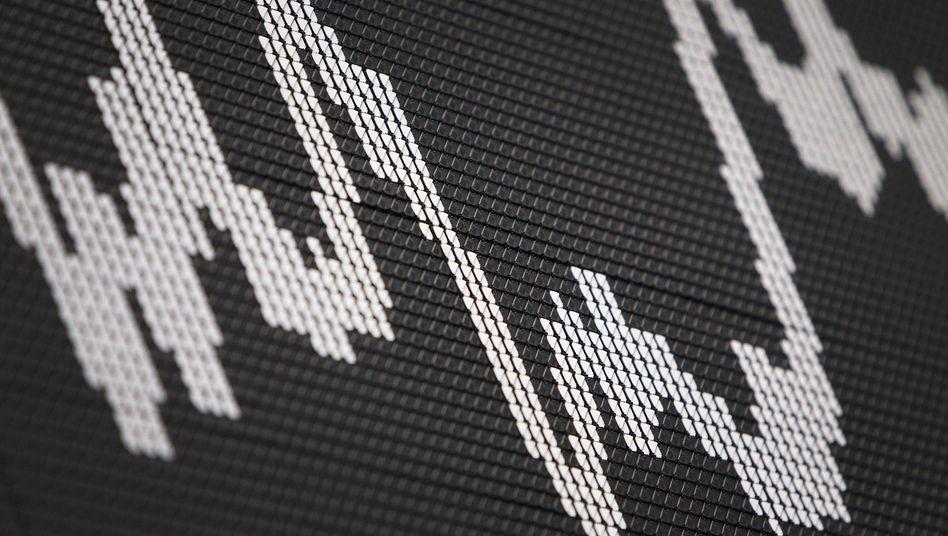 Kurstafel an der Börse: Der Dax steigt, die Kryptowährung Ethereum erreicht ein Rekordhoch