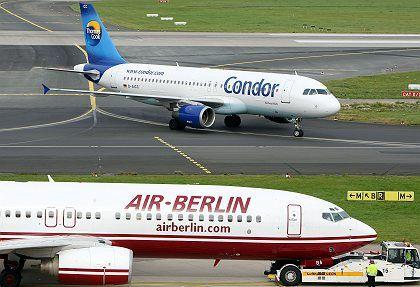 Air Berlin: Hoher Ölpreis durchkreuzt Strategie