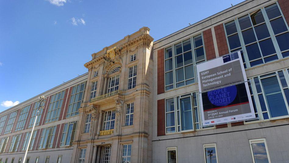 Gebäude der ESMT in Berlin: 50 Millionen Euro als Spende erhalten