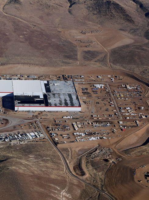 Teslas Gigafactory: Hier entsteht die größte Fabrik der Welt