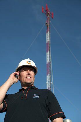 Milliardenmarkt Mobilfunk: Bis zu den Olympischen Spielen 2008 soll Chinas eigenes UMTS-Netz stehen