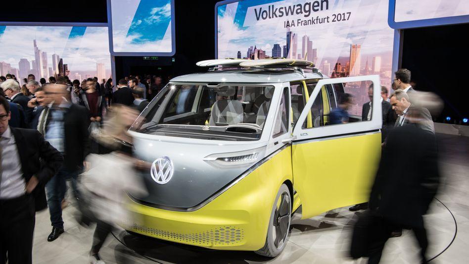 Elektrobulli von Volkswagen: E-Mobilität wird aufgewertet
