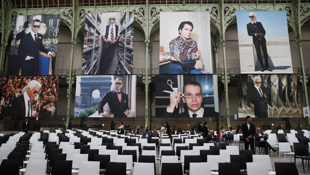 Gala für Lagerfeld: Karl, für immer