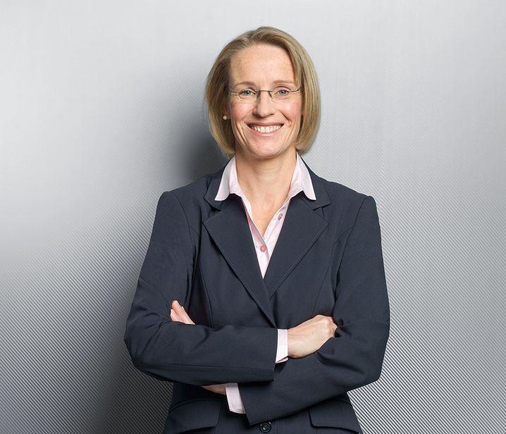 Melanie Kreis (48) ist die einzige Frau im Vorstand der Deutschen Post und dort zuständig für Finanzen.