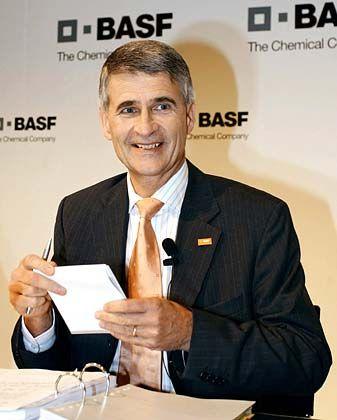 Jürgen Hambrecht: Bei der Gewinnprognose bleibt der BASF-Chef zurückhaltend