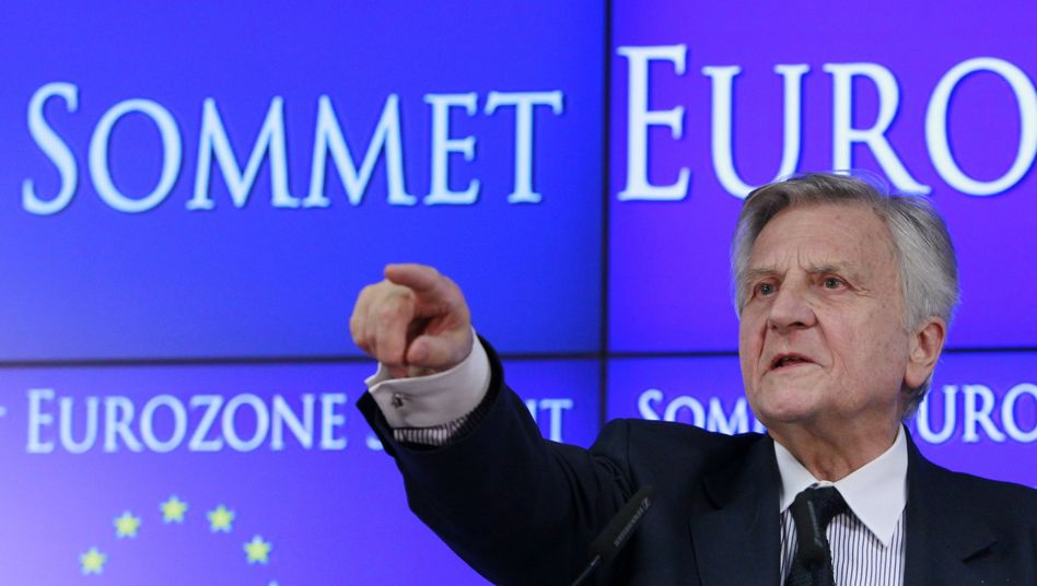 Letzter Akt: Der scheidende EZB-Chef Trichet steckt weitere Milliarden in das Bankensystem
