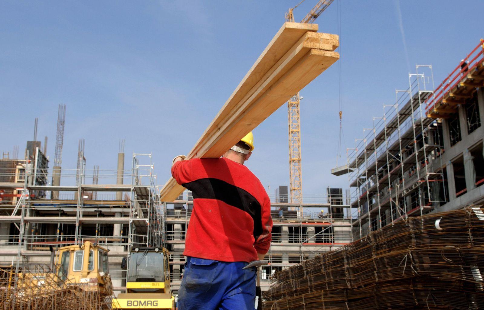Bauarbeiter/ Baustelle