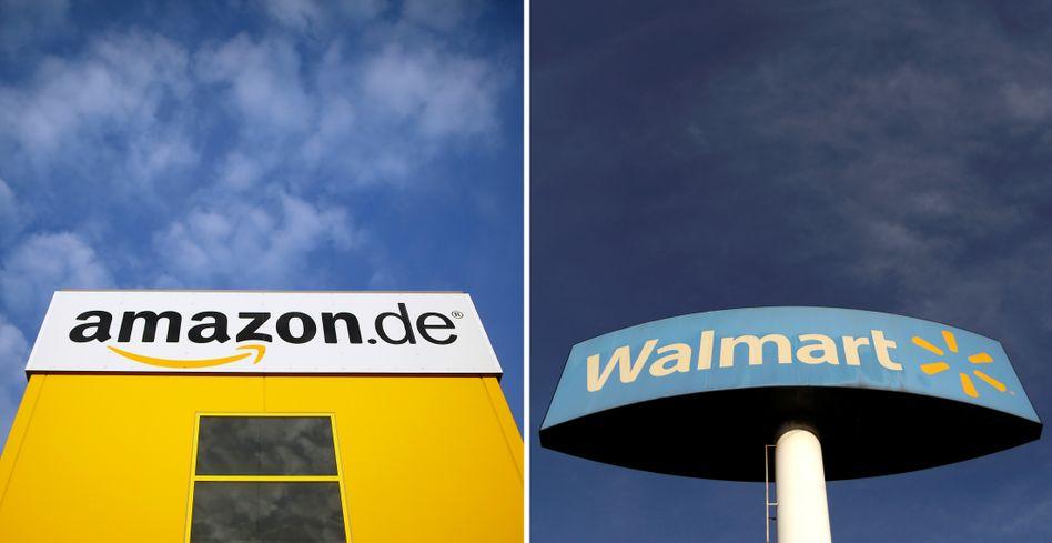 Amazon vs Walmart: Die Online-Plattform gräbt dem traditionellen Einzelhandel zunehmend das Wasser ab