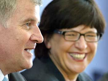 Handelten die Gesundheitsreform aus: Horst Seehofer (CSU) und Ulla Schmidt (SPD)