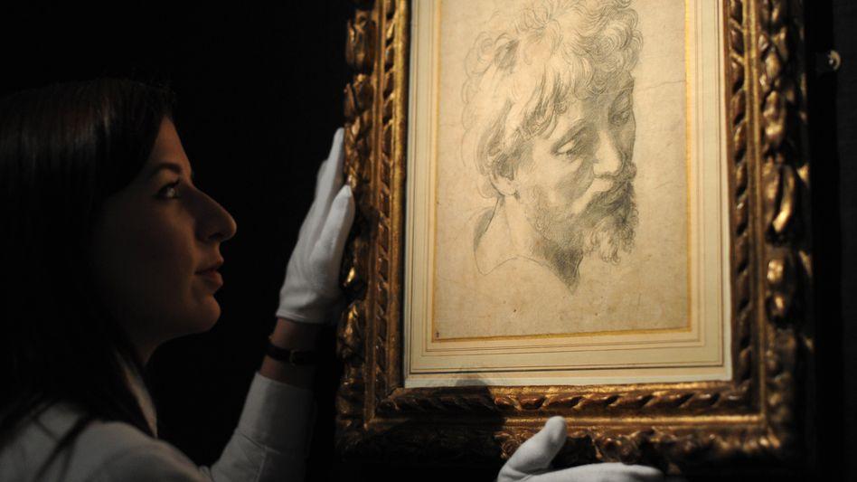 Teures für die Wand: Eine Zeichnung von Raphael, die bei einer Auktion 36,55 Millionen Euro erlöste