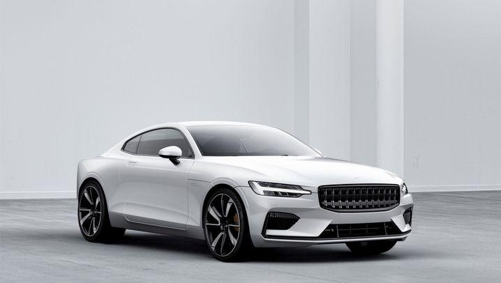 Volvos Elektro-Hybrid Polestar 1: Mit dieser Elektro-Flunder bläst Volvo zur Tesla-Attacke