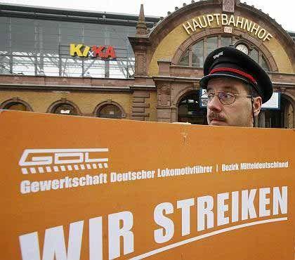 Bundesweiter Ausstand: Lokführerstreik geht weiter