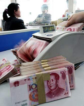 Objekt der Begierde: Umgerechnet 1430 Milliarden Euro Sparvermögen in China