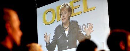 Vergebene Mühe: Kanzlerin Merkel setzte sich für den Opel-Verkauf an Magna ein