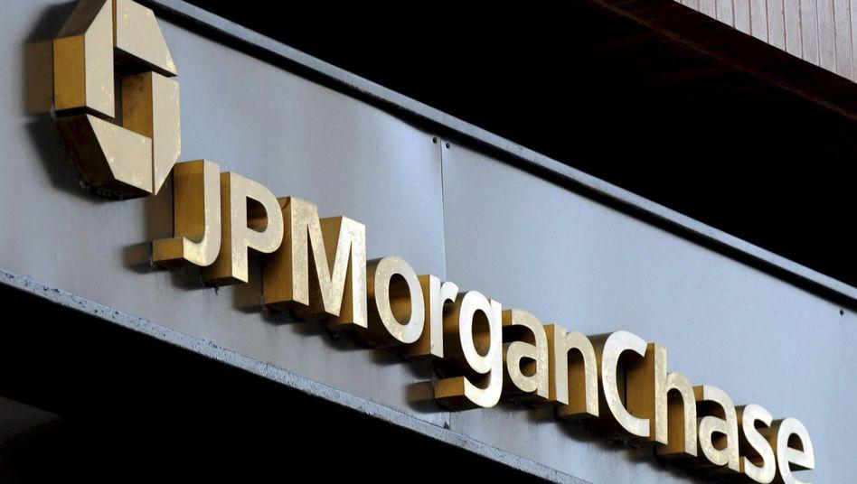Im Visier der Justiz: Die US-Bank JP Morgan soll in kritische Hypothekengeschäfte verwickelt sein