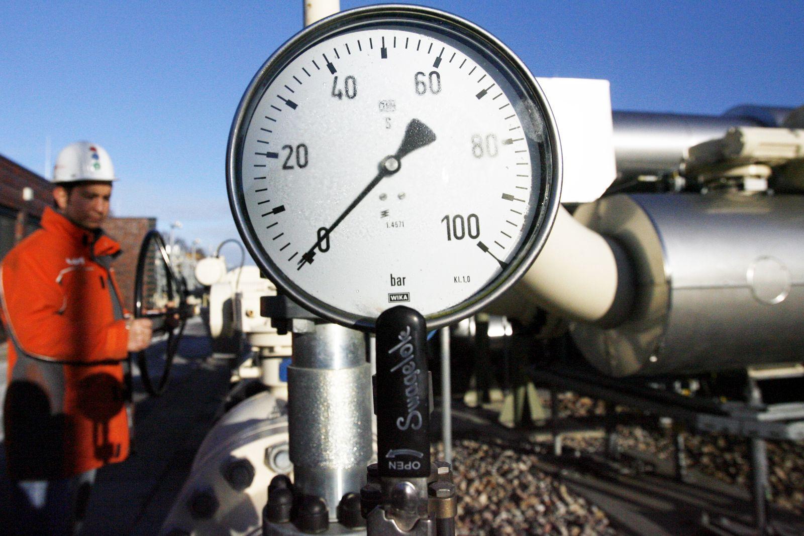Erdgas Lieferausfälle in Europa