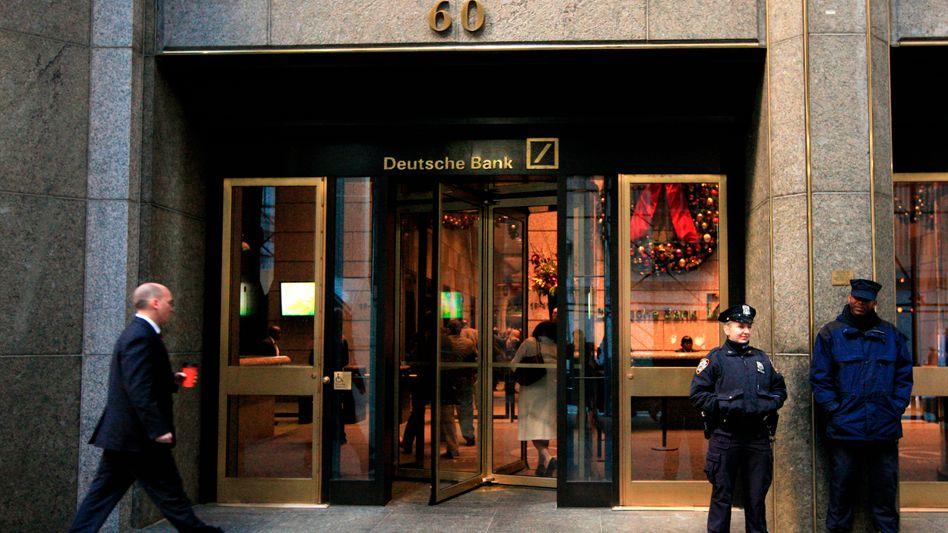 Deutsche-Bank-Filiale in New York: Angeklagt wegen fauler Wertpapiere
