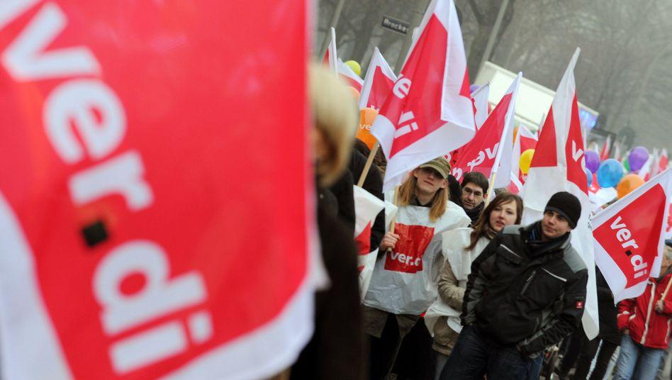 Die Gewerkschaft Verdi droht Eon mit Warnstreiks