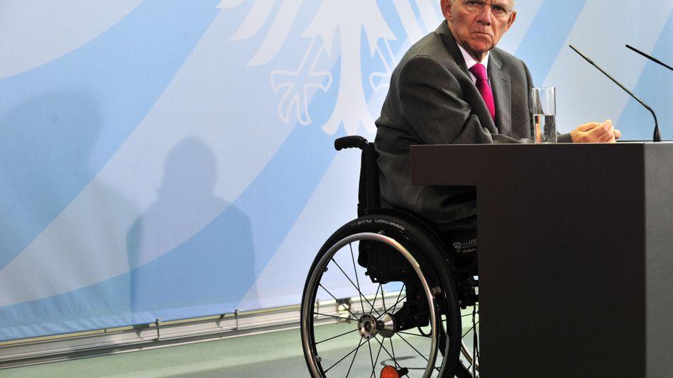 """Schäuble: """"Wir müssen das Oligopol der Ratingagenturen brechen"""""""