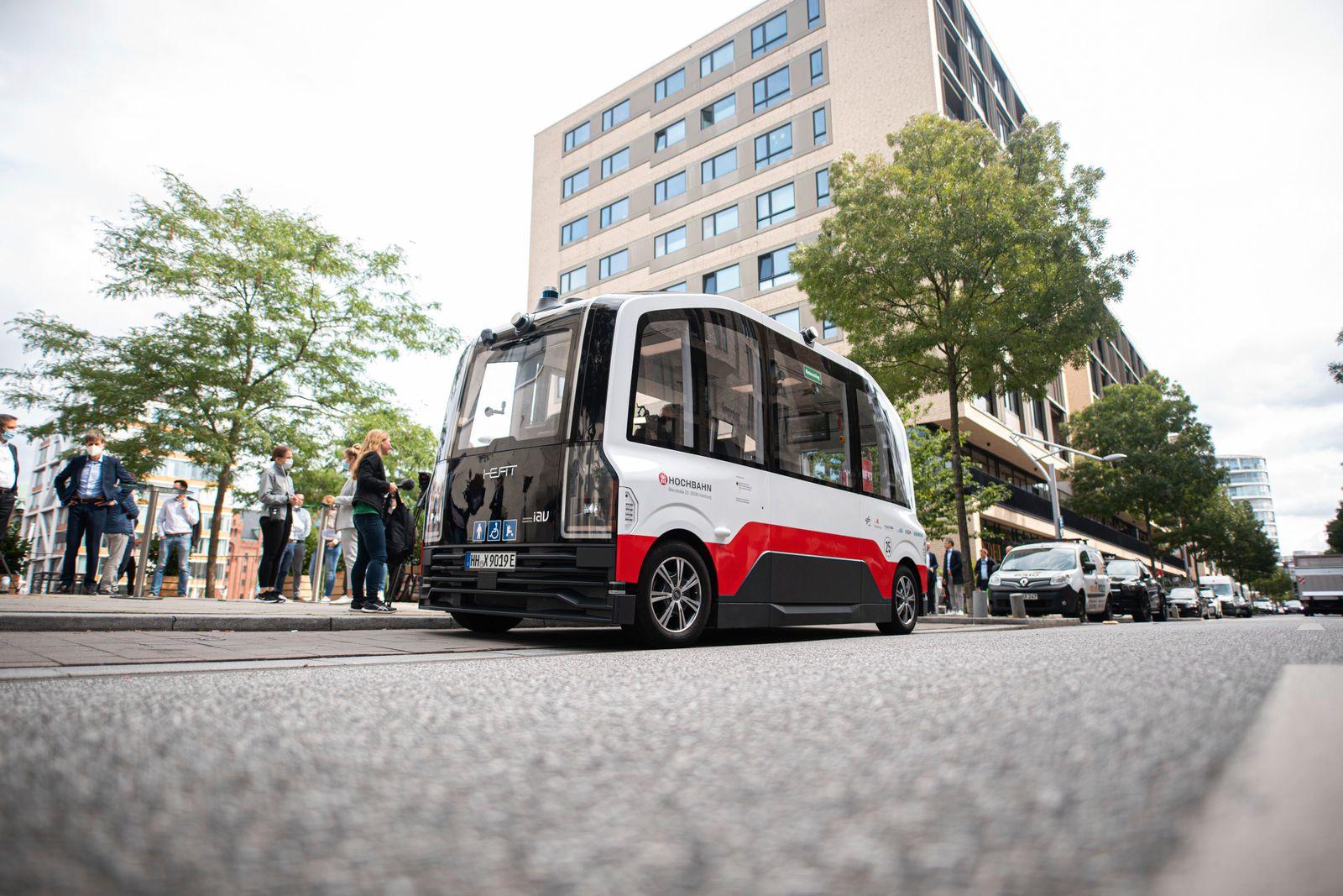 Betrieb des autonom fahrenden Heat-Bus startet