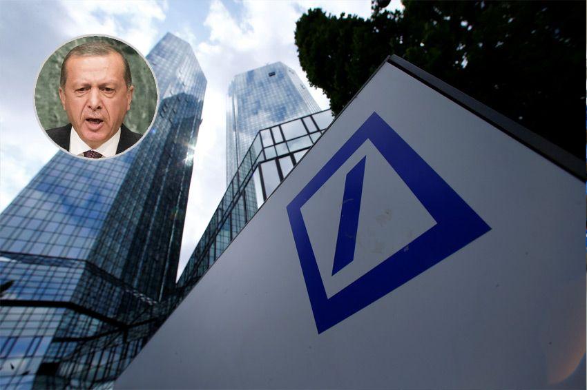 EINMALIGE VERWENDUNG KOMBO Deutsche Bank, Recep Tayyip Erdogan