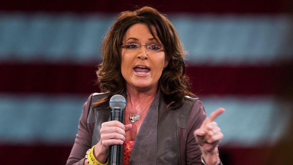 Sarah Palin: Nicht begeistert von Trumps Steuerpolitik