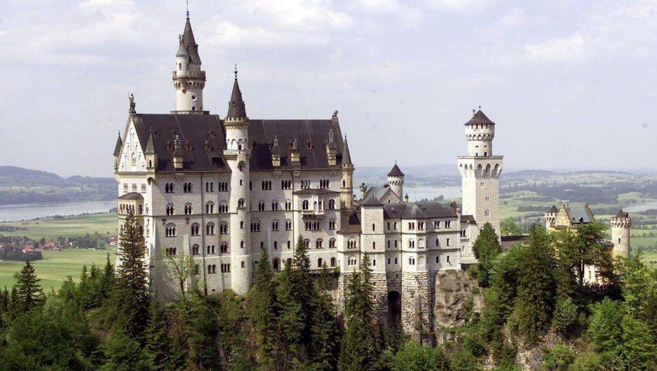 Beliebtes Touristenziel mit schwacher Netzversorgung: Schloss Neuschwanstein in Bayern.