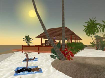 Sonne ohne UV-Strahlen: Second Life macht's möglich