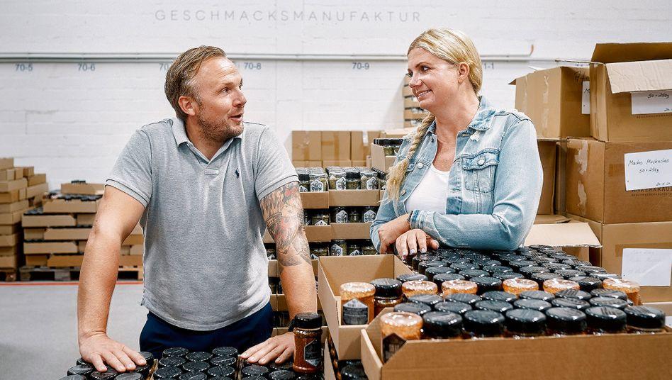 Anne und Stefan Lemcke, Gründer von Ankerkraut