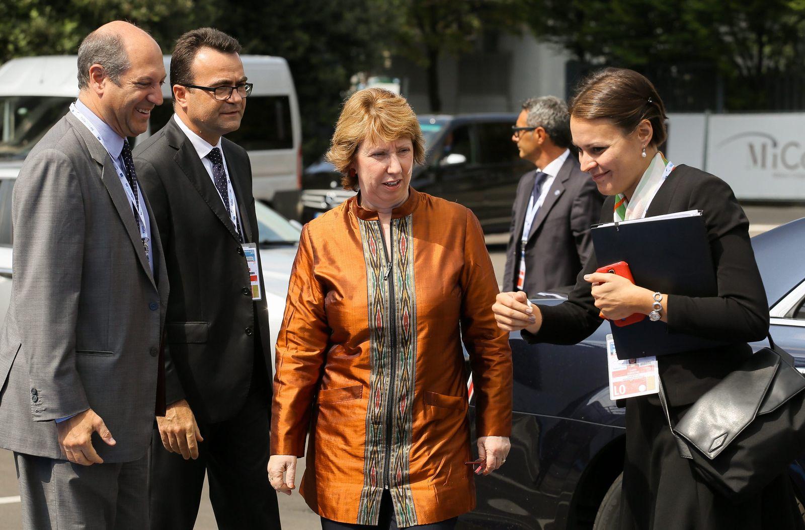 EU Außenminister/ Mailand