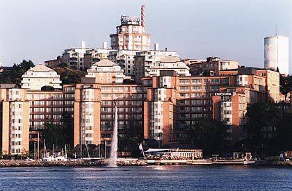 Ericsson-Hauptgebäude bei Stockholm: Anleger honorieren Umsatzwachstum