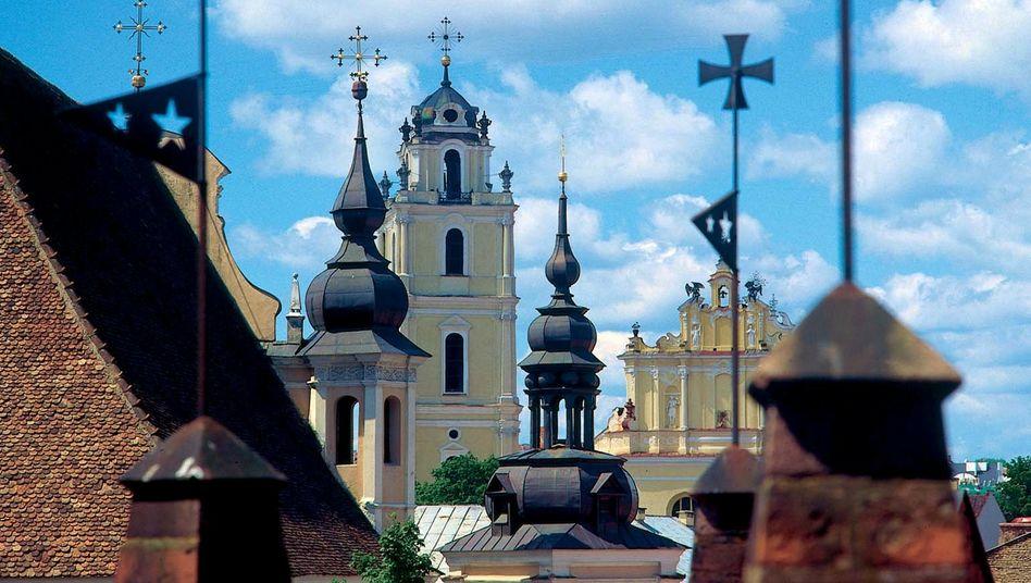 Litauische Hauptstadt Vilnius: Einschränkungen für den Euro beschlossen