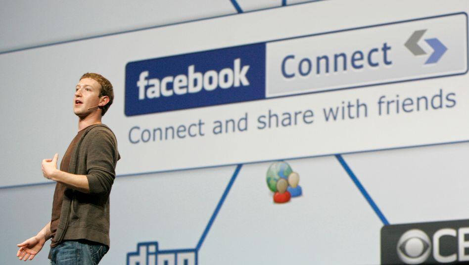 Facebook-Gründer Mark Zuckerberg: Hohe Bewertung für das soziale Netzwerk