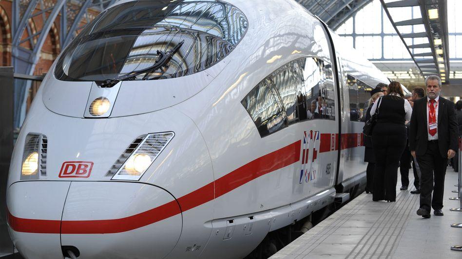 """Vorbild: Die neue Züge der Generation """"ICx"""" sollen optisch an den ICE-3 angelehnt, aber deutlich leichter sein"""