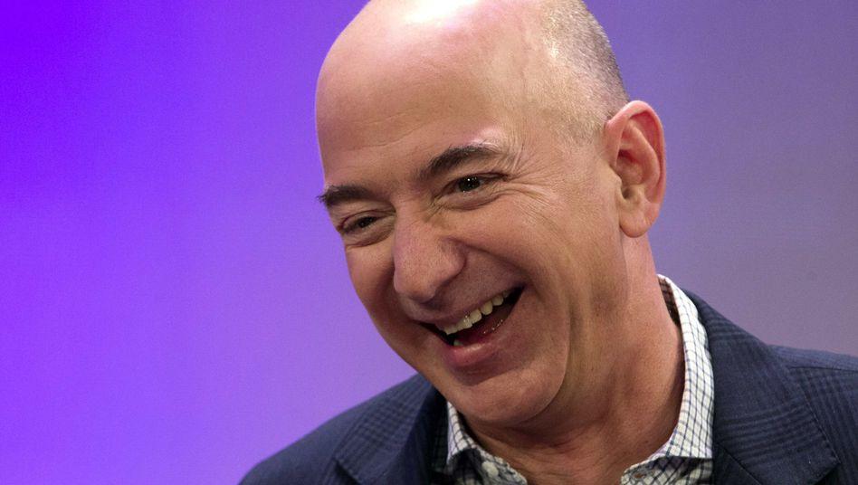 "Amazon-Gründer Bezos in New York: ""Wurzelbehandlung ohne Betäubung"""