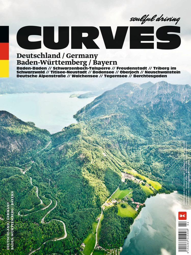BUCHCOVER Curves / Delius Klasing Verlag