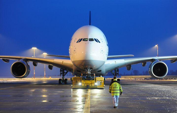 Airbus: Rund 10.000 Flugzeugteile von der Insel
