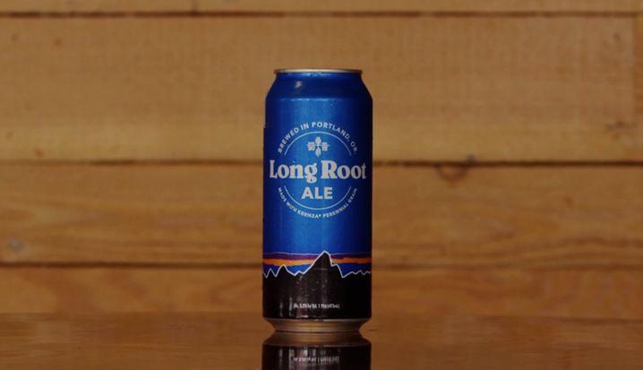 Und so sieht das Bier der Outdoormarke aus