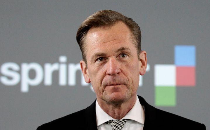 Soll getobt haben: Mathias Döpfner, Vorstandschef von Axel Springer.