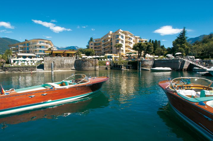 Fünf-Sterne-Heimat und Investment von Karl-Heinz Kipp: Das Hotel Eden Roc in Ascona