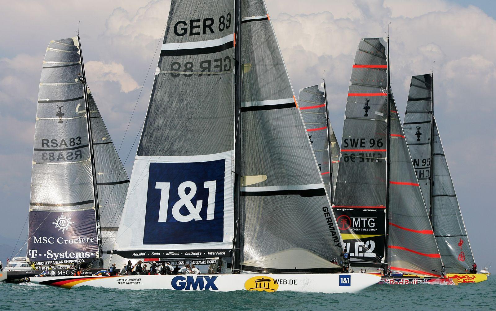 Valencia Louis Vuitton Act 13 - Fleet Race