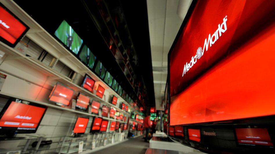 Media-Markt-Filiale: Der Aktionärskreis schrumpft auf zwei