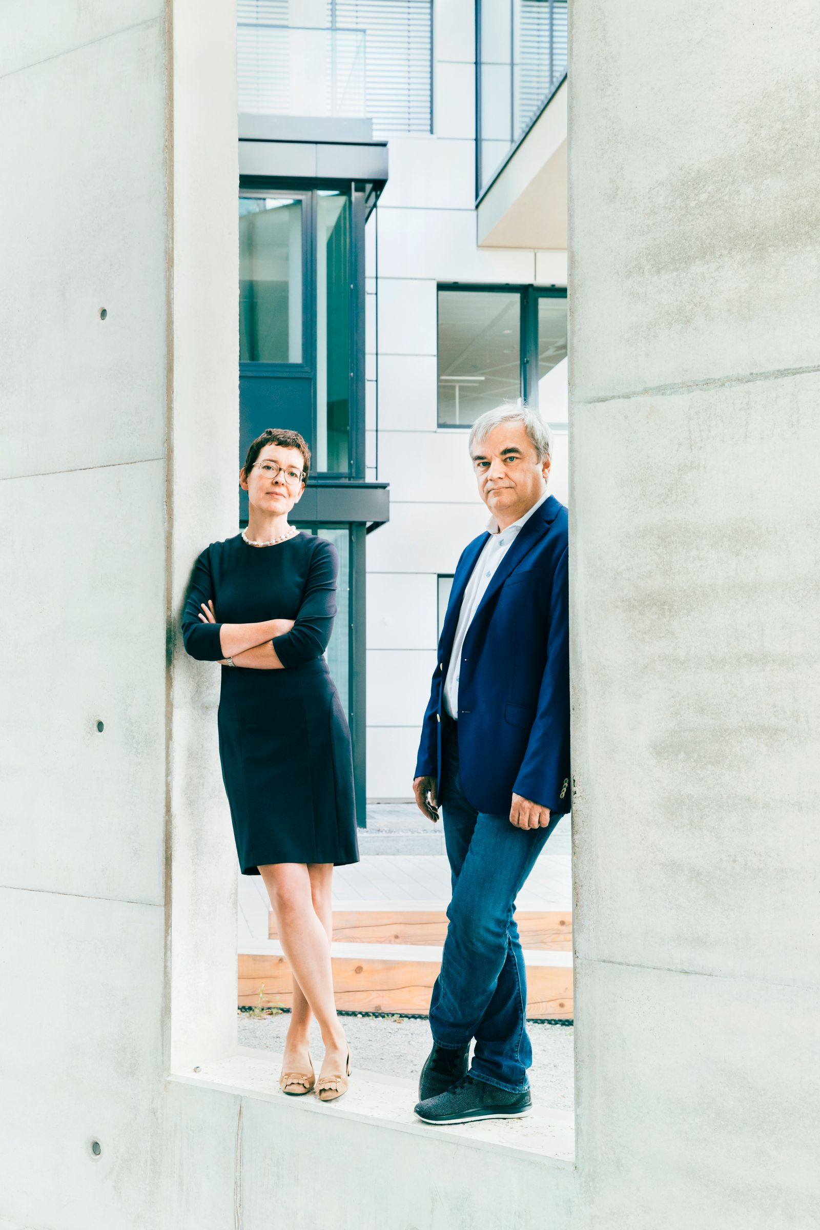EINMALIGE VERWENDUNG Markus Reithwiesner und Birte Hackenjos