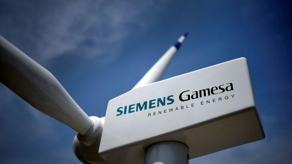 Siemens hält derzeit 59 Prozent an der Windkraft-Tochter Siemens Gamesa