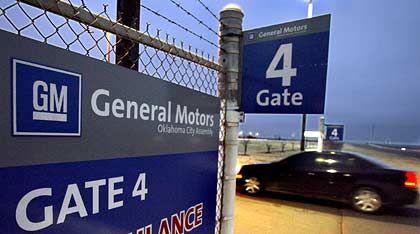 Dicht gemacht: Ehemaliges GM-Werk in Oklahoma City