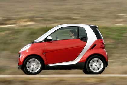 Rasanter Verlustbringer:Der Kleinwagen Smart kostete DaimlerChrysler Milliarden