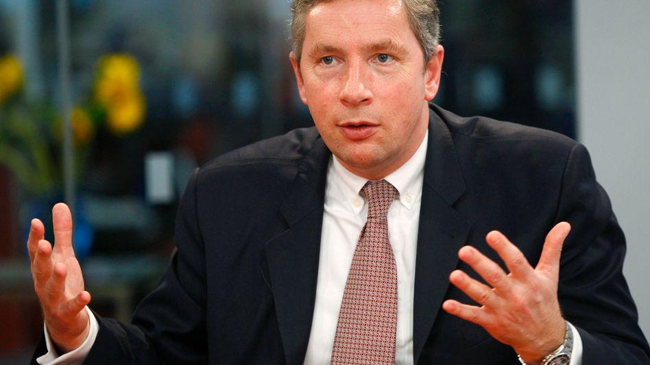 """""""Ausblick für 2011 und darüber hinaus sehr positiv"""": Alcoa-Chef Klaus Kleinfeld konnte Anleger mit seinem Optimismus zu Beginn der US-Berichtsaison nicht anstecken. Die Aktie litt nachbörslich unter Gewinnmitnahmen"""